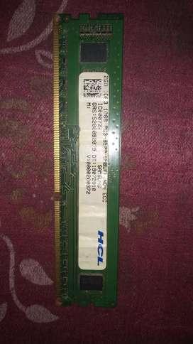 Samsung 2GB DDR3 RAM FOR PC