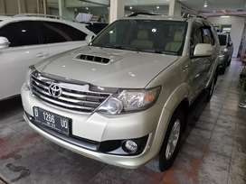 Toyota Grand FORTUNER 2.5 G AT VNT 2013 Silver ( FREDY MOTOR)