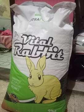 Pelet Makanan Kelinci Kiloan Citra Feed