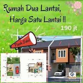 Rumah 2 Lantai Harga 100Jutaan Bisa Kredit Tanpa Bunga Tanpa Bank