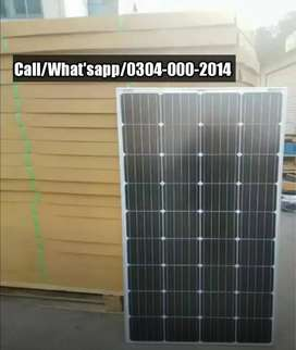 180W Solar Panels With Packaging