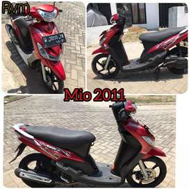 Mio 2011 orisinil.mesin enak banget body kinclong.pemakaian pribadi.