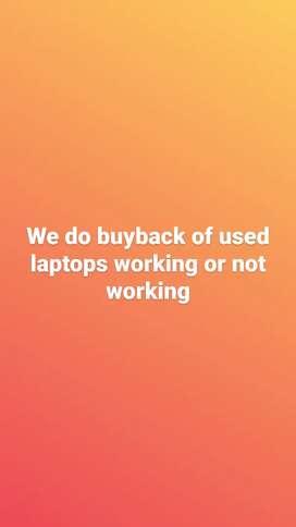 Buyback of Laptops