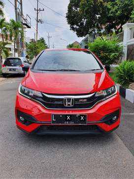Honda Jazz 2019 RS Matic/AT Warna:Merah Nopol: L satu angka Km:12rb!