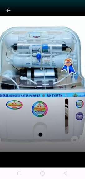 New Ro water purifier 10 to 18 lit 1+4 year warranty home delivery fre