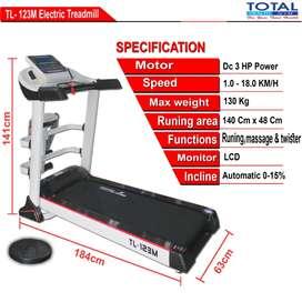 Treadmill listrik total 123M