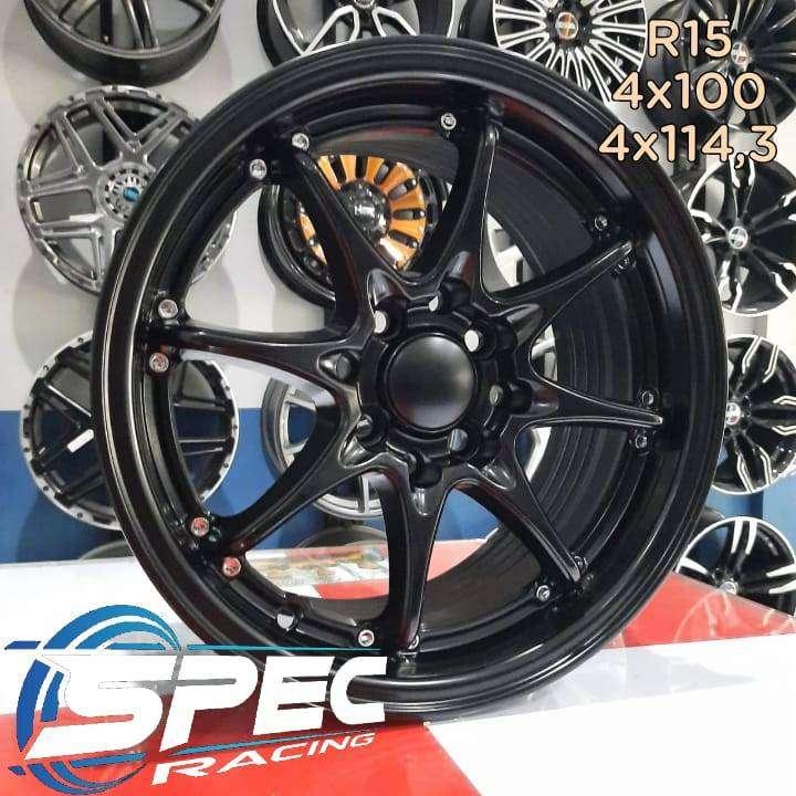 Pelek Mobil Ford Fiesta R15 HSR Bisa Dicicil Di Toko Velg Mobil Medan