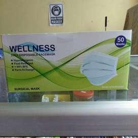 masker 3 ply medis bedah earloop - Wellness