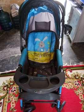 Di jual Stroller  bayi  pleko