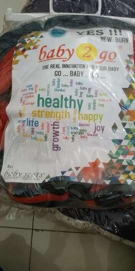 Jual murah Gendongan bayi depan baby scots dan selimut bayi kuma kuma