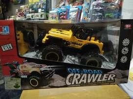 Mainan mobil jeep remot besar 4x4 rock crawler