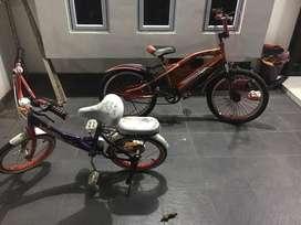 jual sepeda anak 2 unit