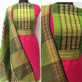 Dress Materials and Sarees at Low Cost