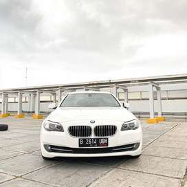 Bmw 520d F10 2012 White On Red