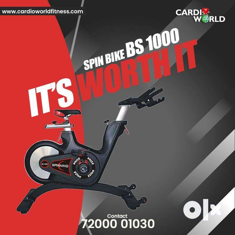 NEW SPIN BIKE WITH 12 KG MAGNETIC WHEEL 0