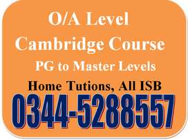 Male/Female Tutors available. For Home Tuitions. In all over Islamabad