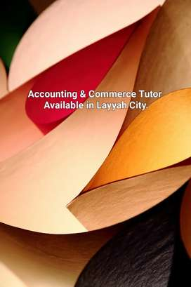 Accounting, Commerce Home Tutor Available