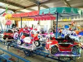 odong mobil pabrik wahana sepeda air perahu fiber DZ