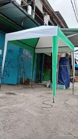 Tenda cafe di  rumah adj bayaryx  pket ke luar kota