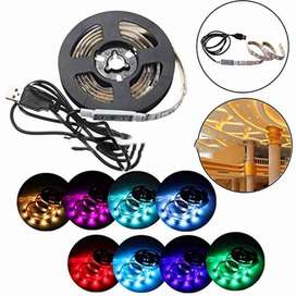 AyooDropship - Mood Light Led Strip 5050 RGB 1M with USB Controller -