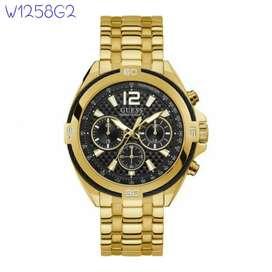 Jam Guess Gold W13l258G2 Original