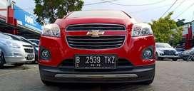 Chevrolet Trax 1.4 LTZ Turbo 2016 Merah KM 40rbuan mulus