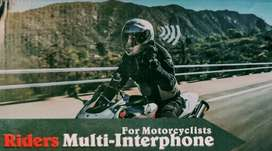 Helmet Mount V6 Stereo Bluetooth Intercom 1km