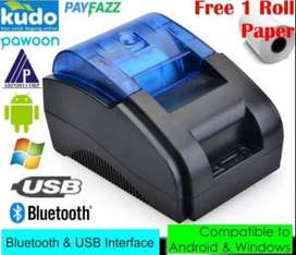 Printer Kasir (USB + Bluetooth)