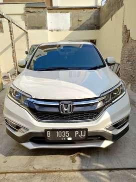 Honda CRV 2.4 PRESTIGE Putih 2015 Plat Ganjil