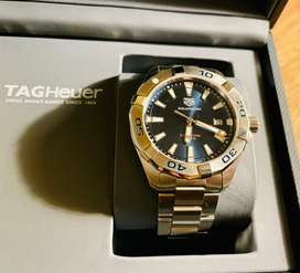 Tag Heuer Aqua Racer Watch (Brand New)