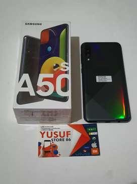 Samsung A50s ram 6/128 GB fulsed