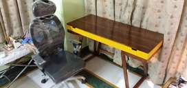 Study desk in solid wooden