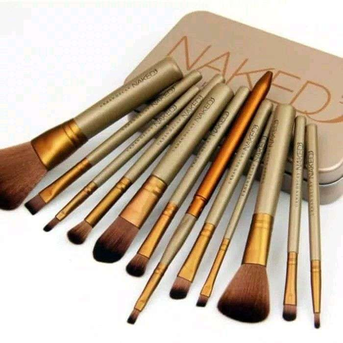 kuas makeup set 12 pcs 0