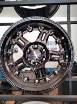 Velg R18-9.0 h6-139.7 et20 bisa untuk mobil Pajero Fortuner Hilux