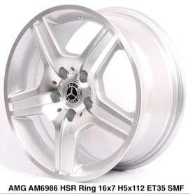 VELG MOBIL VARIASI ROSTOCK AM6986 HSR R16X7 H5X112 ET35 SMF