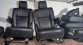 Seat work car seat toyota crysta innova