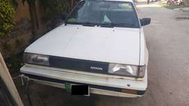 Nissan Sunny 86 Best Car in Lahore 1000 CC