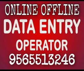 **Part time data entry job for male and female students..