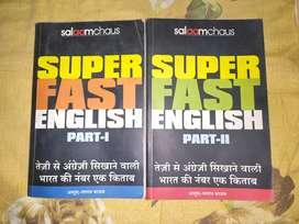 SALAAMCHAOS SUPERFAST ENGLISH part 1 & 2 best english speaking book