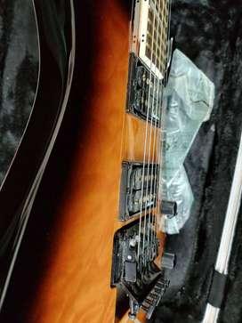 JACKSON guitar with floyd rose and GATOR flight case