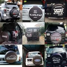 Cover/Sarung Ban Terios/Escudo/Daihatsu Taft/Rush/Kulit Sintetis#DraxA