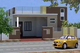 2 bhk house kantheru opp Nagarjuna University road