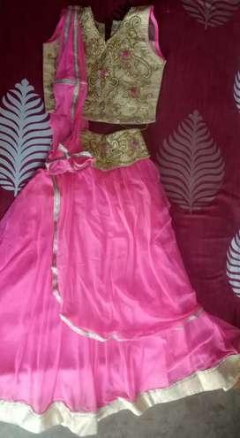 Saree lehenga for girl