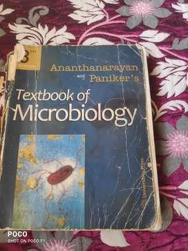 Microbiology textbook ananthanarayan and panikerd