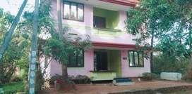 5.5cent 1450 sq feet house near guruvayoor water eb ready to oqupaay