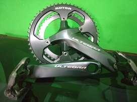Crank ultegra R8000 race 53/39 rotor
