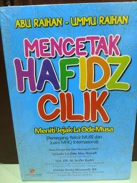 Buku Mencetak Hafidz Cilik Seperti La Ode Musa