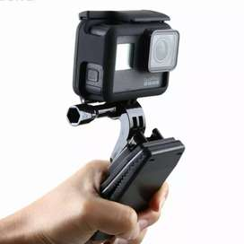 Hard Case with Rotary Clip for GoPro Hero 5/6/7 - Black