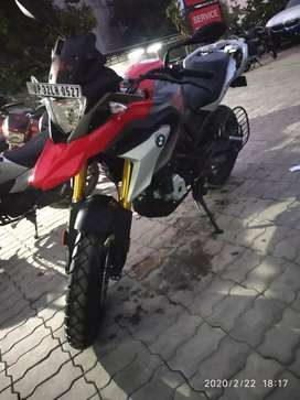 Here i present a BMW 310 Gs bike for you