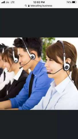 Telecallers required for educational institute only girls.